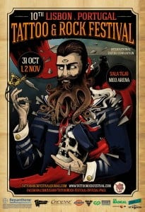 tattoo rock festival convencao tattoo lisboa portugal