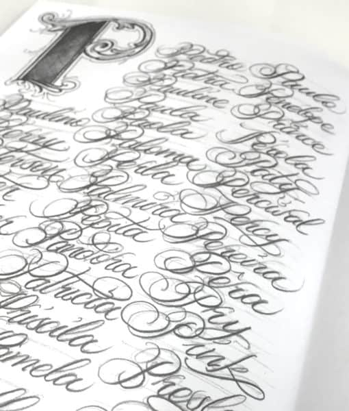 sketchbook 1000 nomes letterings portugal