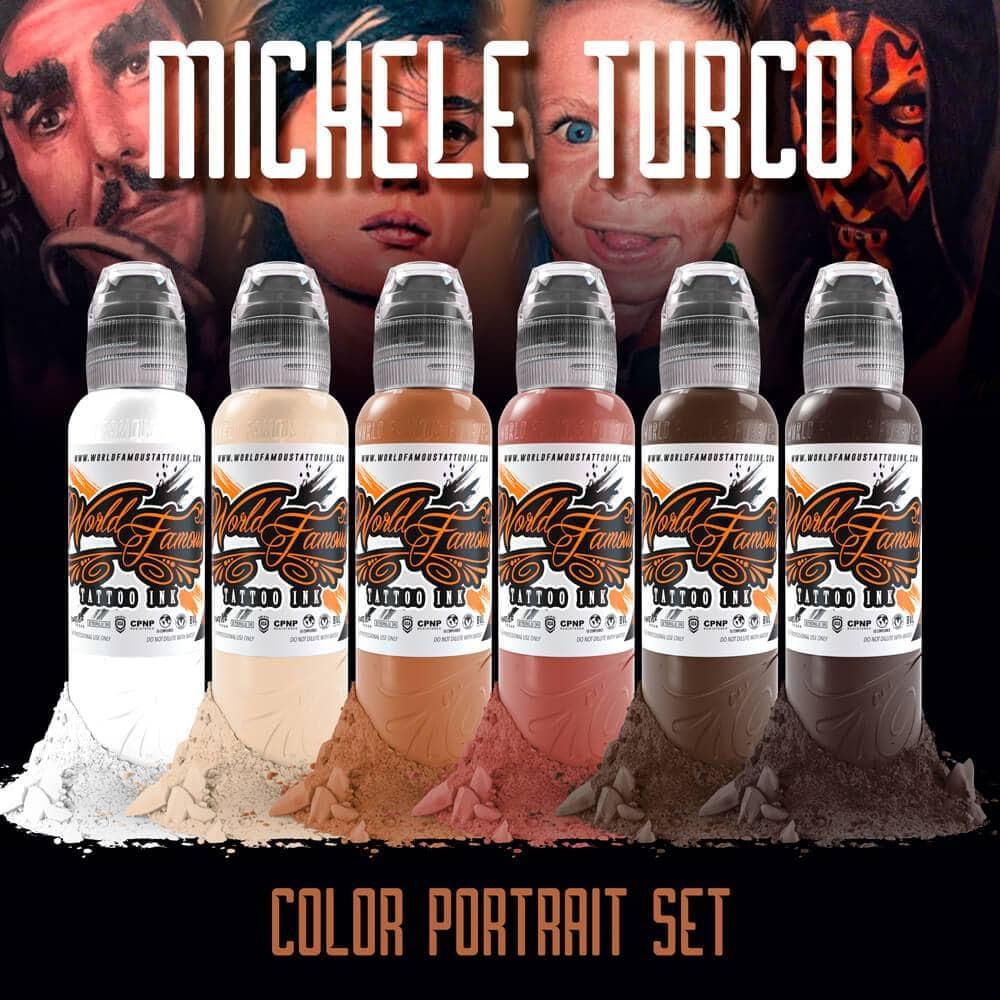 Michele Turco Color Portrait Set