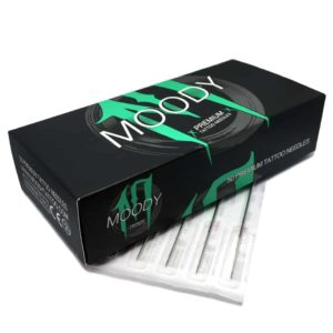 Moody Premium Tattoo Needles Round Liner - 035 - 7rl