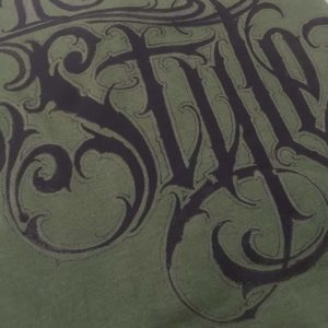 Moody Style T- Shirt Bola Lettering - xs